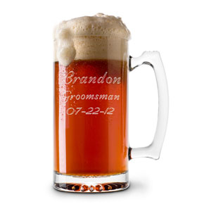 13 oz. Glass Beer & Sports Mug