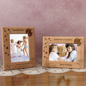 Sleepover Wooden Picture Frame