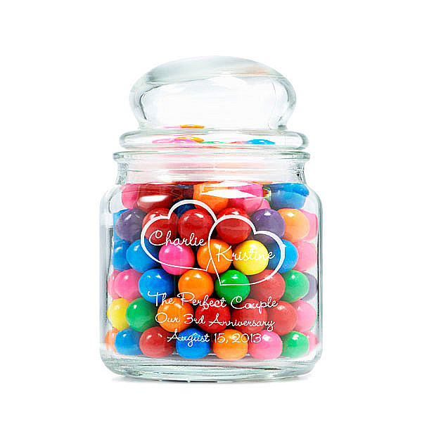 Perfectly Sweet Glass Jar