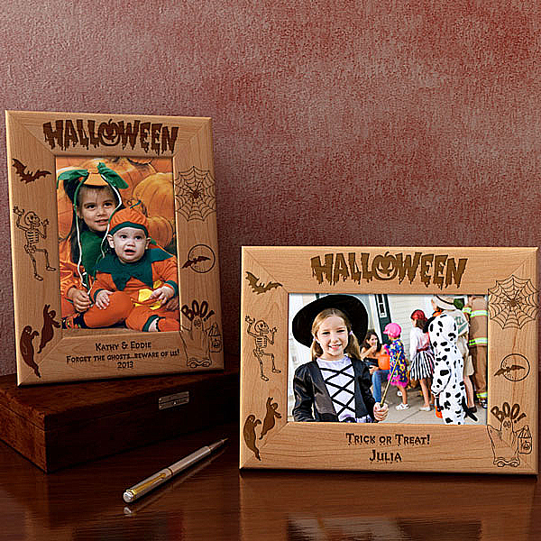 Halloween Memories Wooden Picture Frame