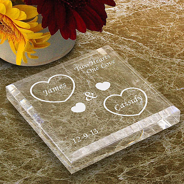 Both Our Hearts Keepsake & Paperweight