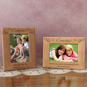 Royale Cousins Wooden Picture Frame