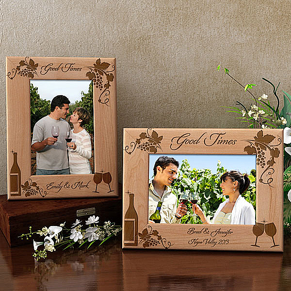 Good Times Wooden Picture Frame