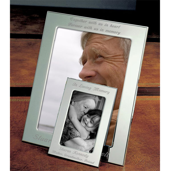 Remembrance Silver Picture Frame