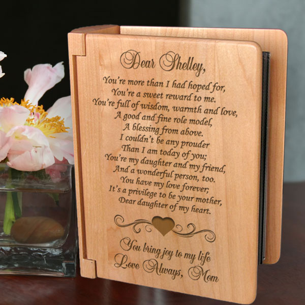 My Sweet Daughter Wooden Photo Album