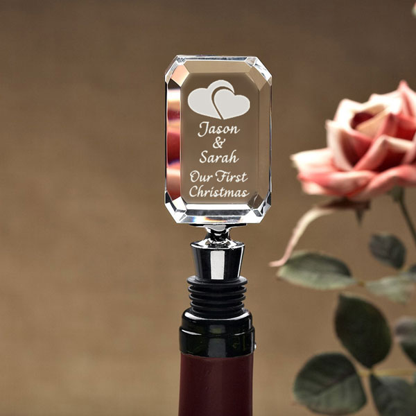Our Hearts Wine Stopper