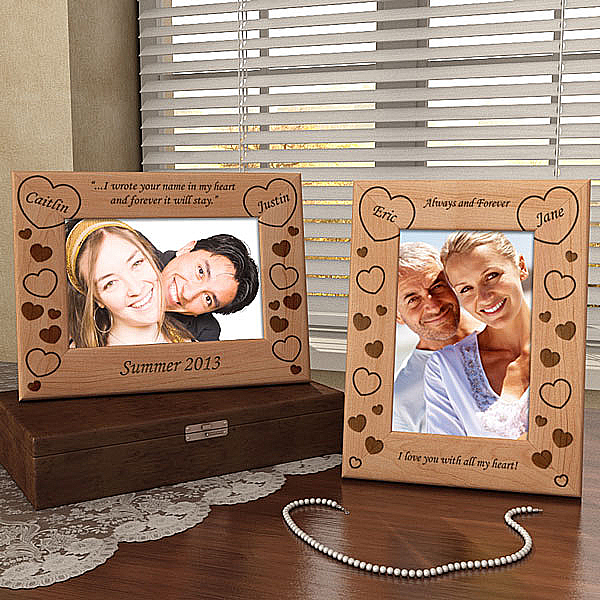 Make Your Own Hearts Wooden Picture Frame