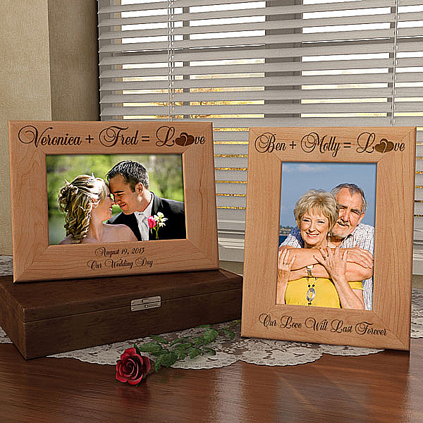 Perfect Equation Wooden Picture Frame