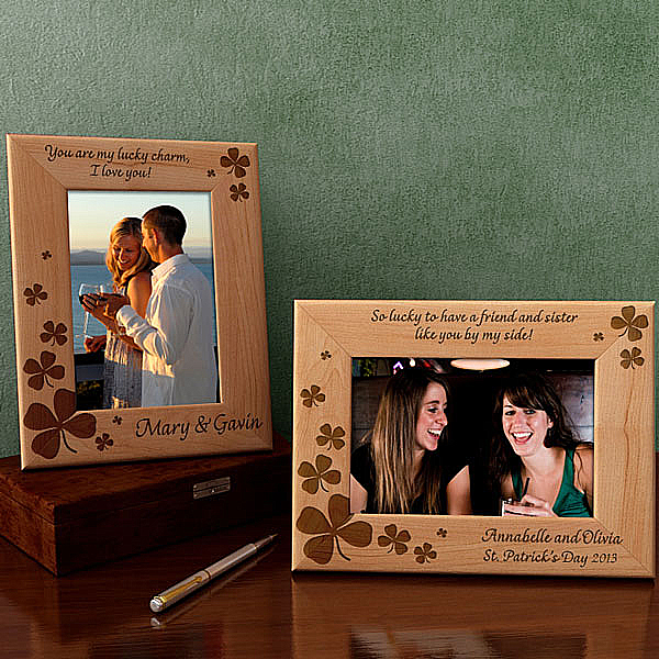 Lucky Charms Wooden Picture Frame