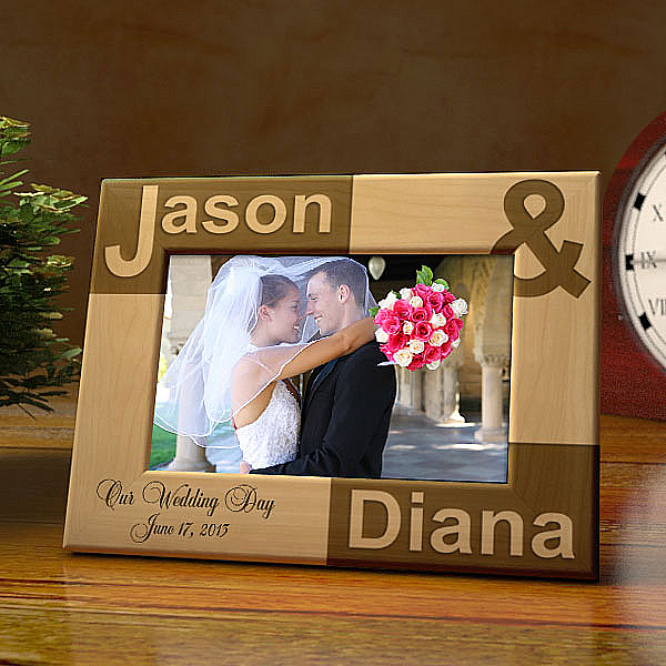 Just You and I Wooden Picture Frame