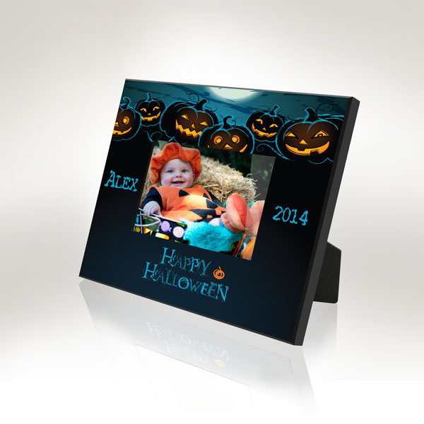 Happy Halloween Picture Frame