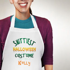 Shittiest Halloween Costume Apron