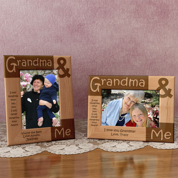 Grandma & Me Wooden Picture Frame