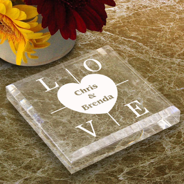 Heart of Love Keepsake & Paperweight