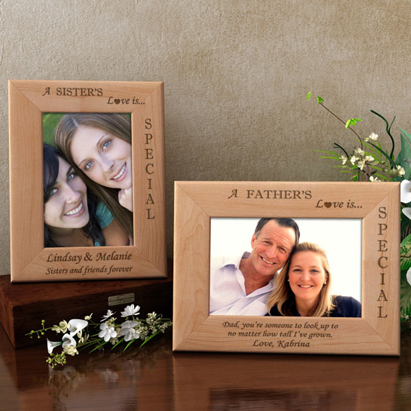 Your Love Is Special Wooden Picture Frame