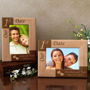 Our First... Wooden Picture Frame