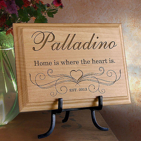 Our Family Wooden Plaque