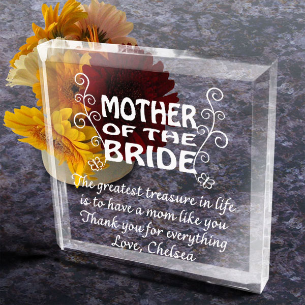 To My Parents on My Wedding Day Keepsake & Paperweight