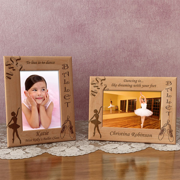 Ballet Wooden Picture Frame