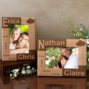 I Love You in So Many Ways Wooden Picture Frame