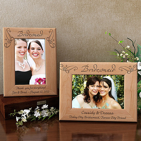 Royale Bridesmaid Wooden Picture Frame