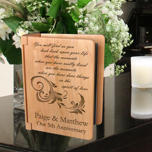 In the Spirit of Love Wooden Photo Album