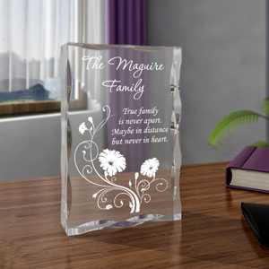 Blossoming Family Keepsake