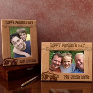 A Monster Truck for Dad Wooden Picture Frame