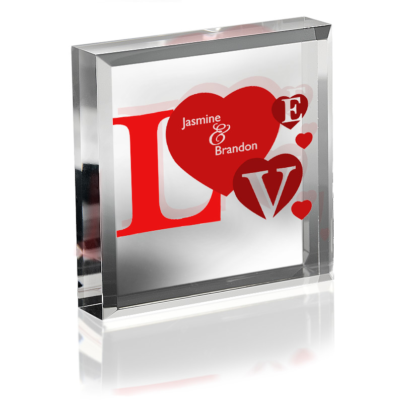 Love Keepsake & Paperweight