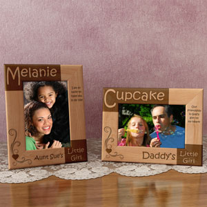 My Little Girl Wooden Picture Frame
