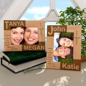 Best Friends Wooden Picture Frame