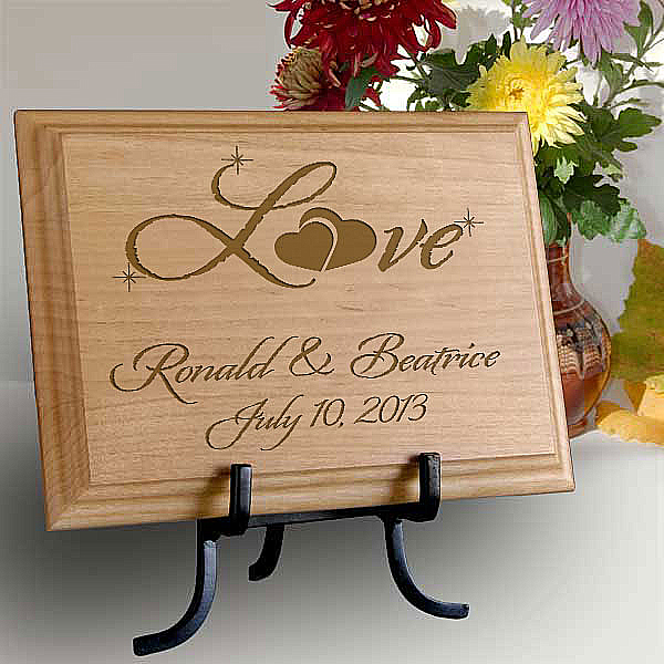 Love Wooden Plaque