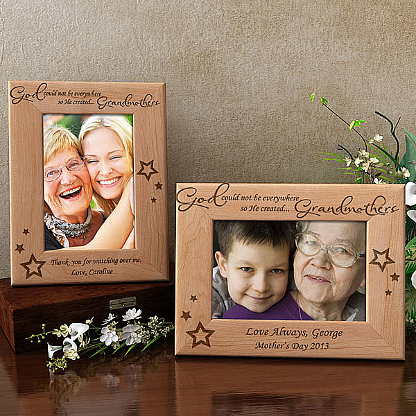 God Created You Wooden Picture Frame
