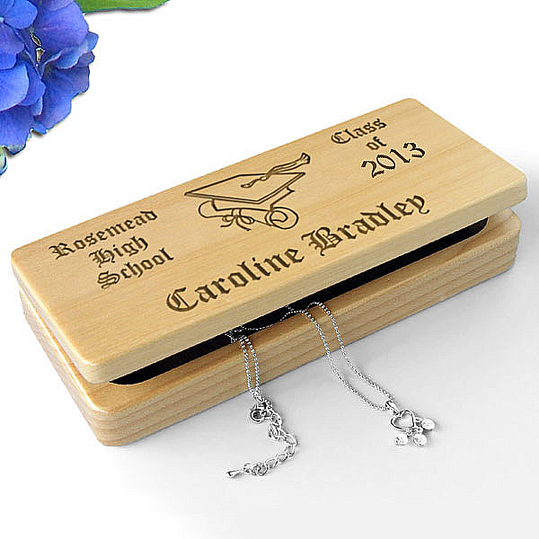 Class Of...Wooden Keepsake & Jewelry Box