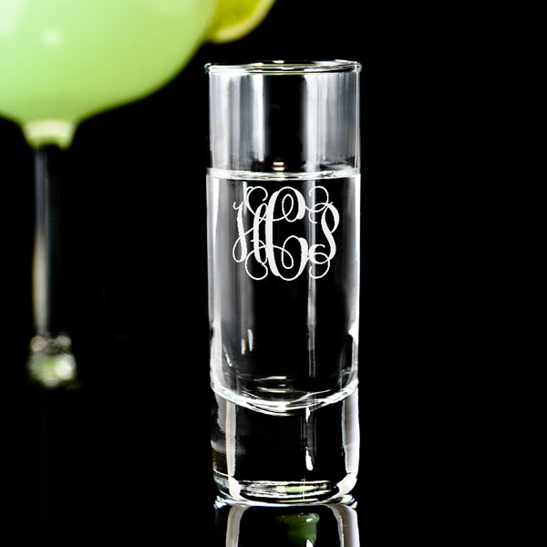Monogram Tall Shot Glass