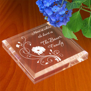 Blooming Flowers Keepsake & Paperweight