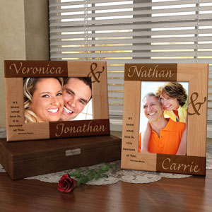 Forever You & I Wooden Picture Frame