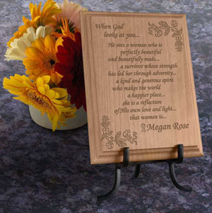 Survivor Wooden Plaque