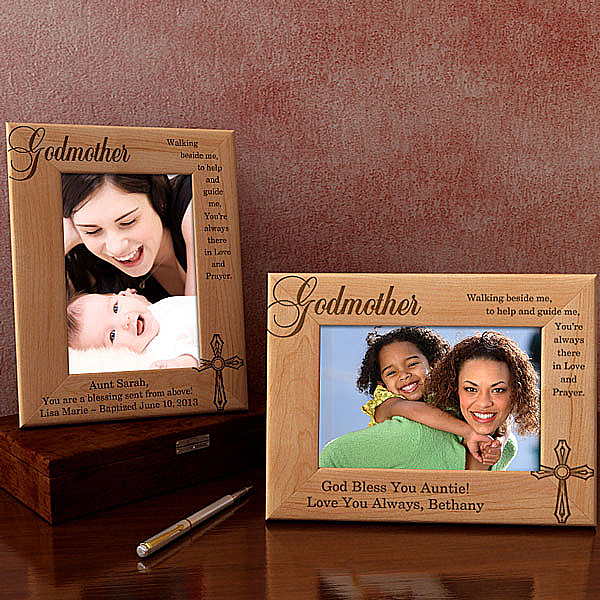 Godparent Wooden Picture Frame