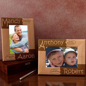 You Say, I Say... Wooden Picture Frame
