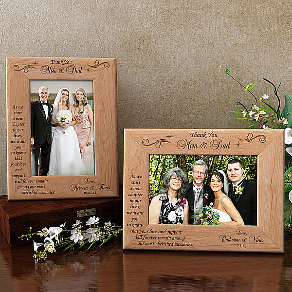 Thank You on My Special Day Wooden Picture Frame