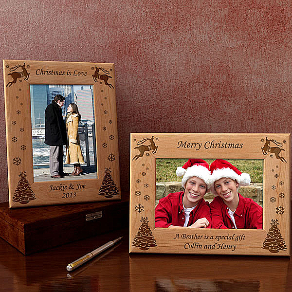 Make Your Own Christmas Wooden Picture Frame