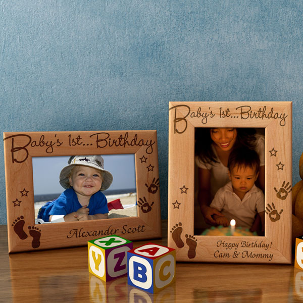 Baby's First...Wooden Picture Frame