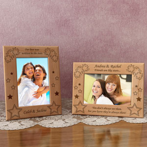 Stars Wooden Picture Frame