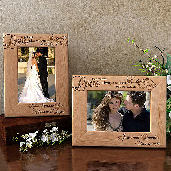 Love Always Wooden Picture Frame