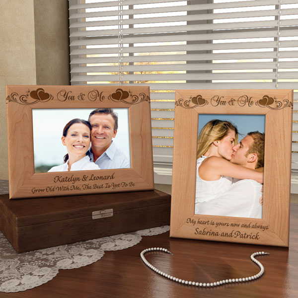You & Me Wooden Picture Frame