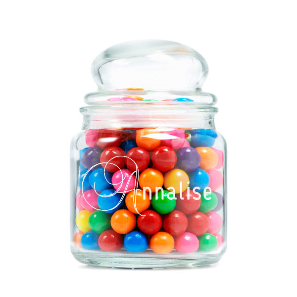 Just For Them Glass Jar