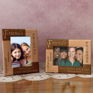 Friends Wooden Picture Frame