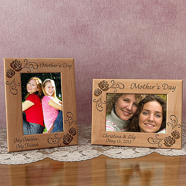 Mother's Day Wooden Picture Frame