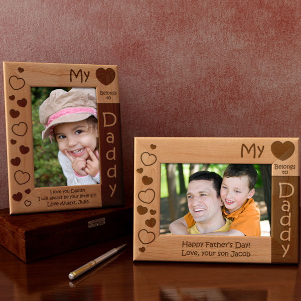 My Heart Belongs to... Wooden Picture Frame